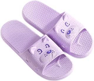 KINDOYO Mens Slippers - Slip-on Slippers for Man Women Bath Pool Water Shoe Shower House Sandals