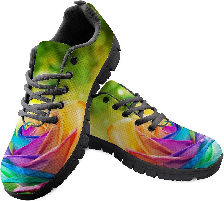 Doginthehole Breath Mesh shoes Women Sport Running Sneaker Athletic Footwear