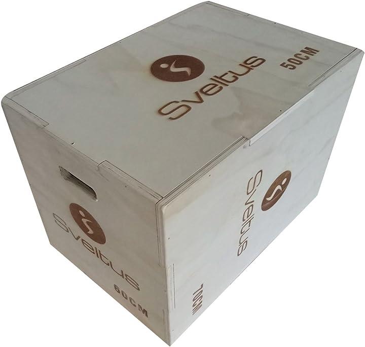 Plyobox legno sveltus esercizi pliometria 4601