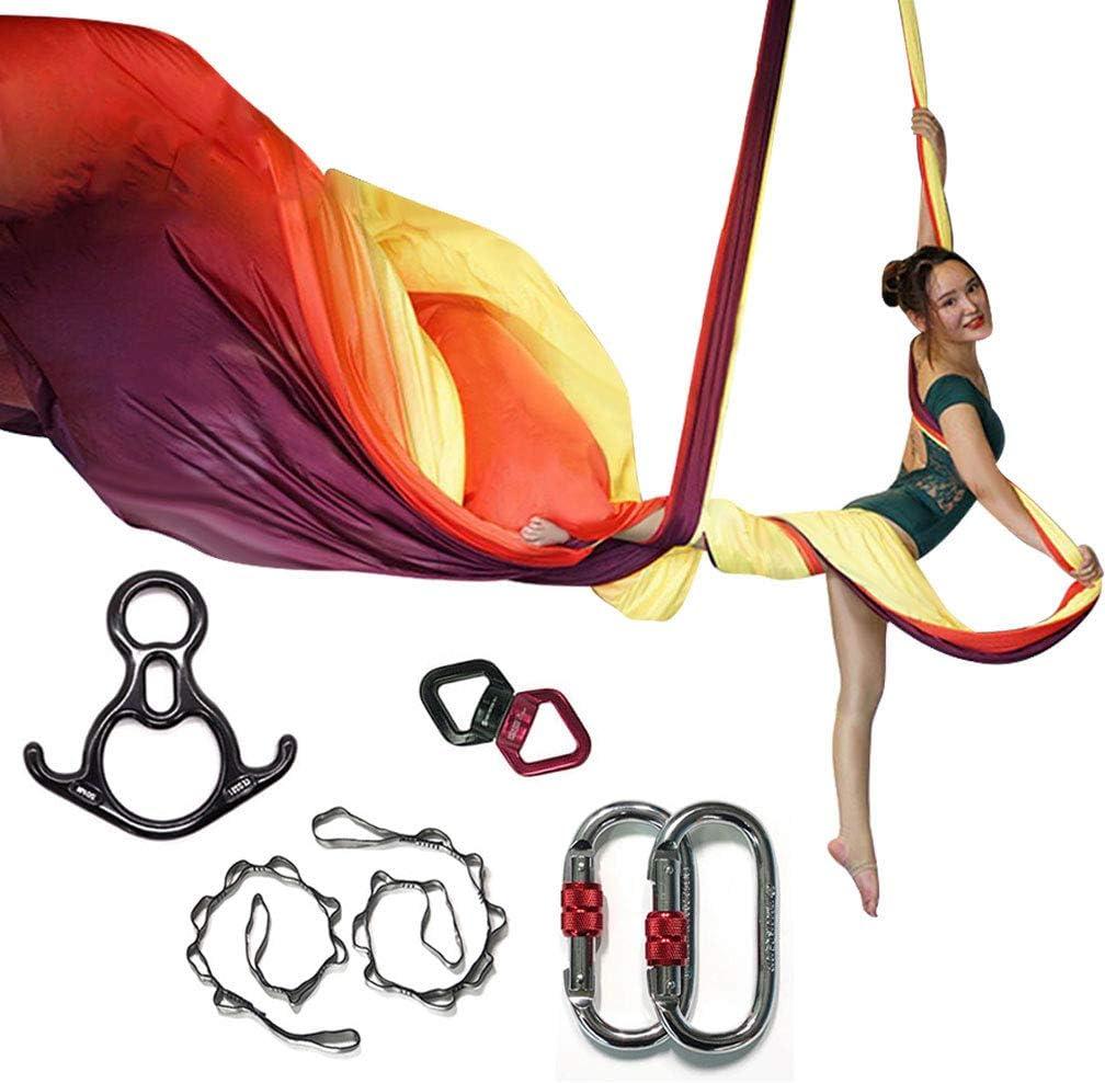 KIKIGOAL 10M 40%OFFの激安セール Aerial Yoga Silk 春の新作シューズ満載 Pilates Aeria Equipment Swing