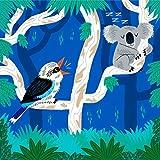 iota illustration Der Koala und die Kookaburra - Kunst