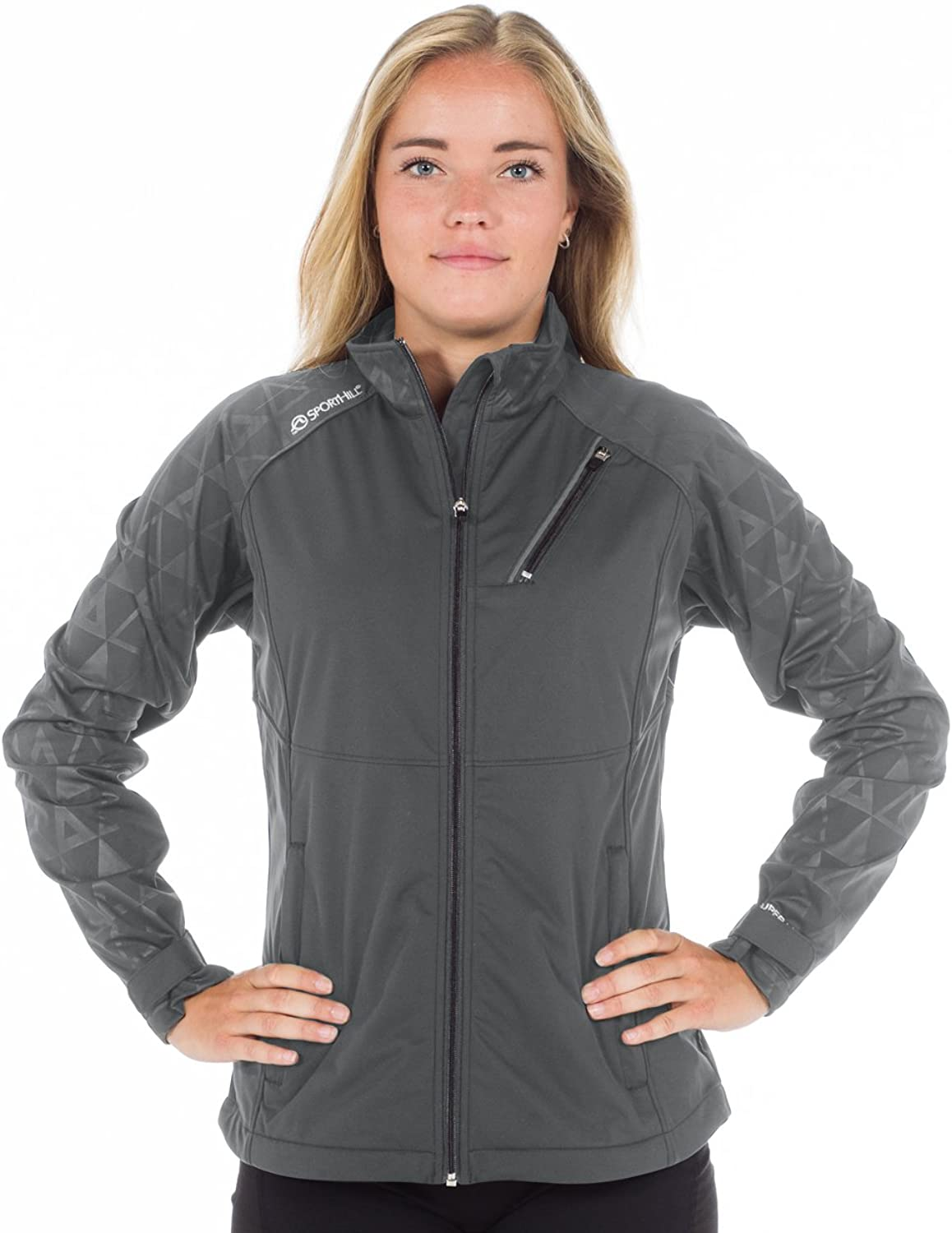Sport Hill Women's Super XC Jacket, XLarge, Pewter