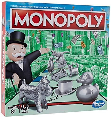 Hasbro- Classic - Monopoly (Versión holandesa) (0604051)