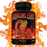 Dragons Fury Male Enhancing Booster – [10X Strength] – Enlargement Booster for Size, Stamina, Energy, Drive – Fast Acting Natural Performance Supplement – Max Dose for 1 Month Supply – Made in USA