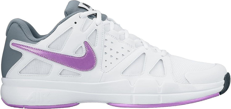 Nike Air Vapor Advantage Tennisschuhe Damen - Wei lila - 38.5