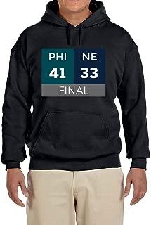 Tobin Clothing Black Philadelphia Championship Scoreboard Hooded Sweatshirt