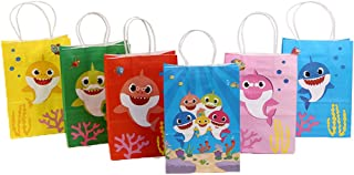 25 pcs Pinkfong Baby Shark Birthday Party Loot Favors Treat Candy Bags