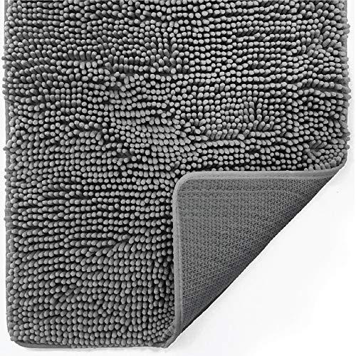 Gorilla Grip Indoor Durable Chenille Doormat, 36x24, Soft, Absorbent,...