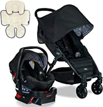 Britax Pathway & B-Safe 35 Travel System, Sketch with Support Pillow Bundle