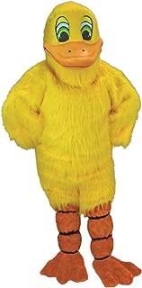 Yellow Duck Mascot Costume