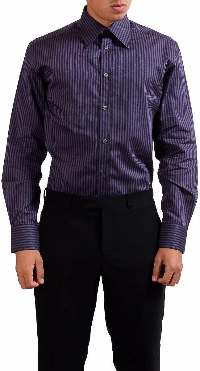 Versace Collection Men's City Dress Shirt Size US 16.5 IT 42