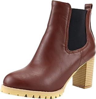 VulusValas Women Pull On Chelsea Boots