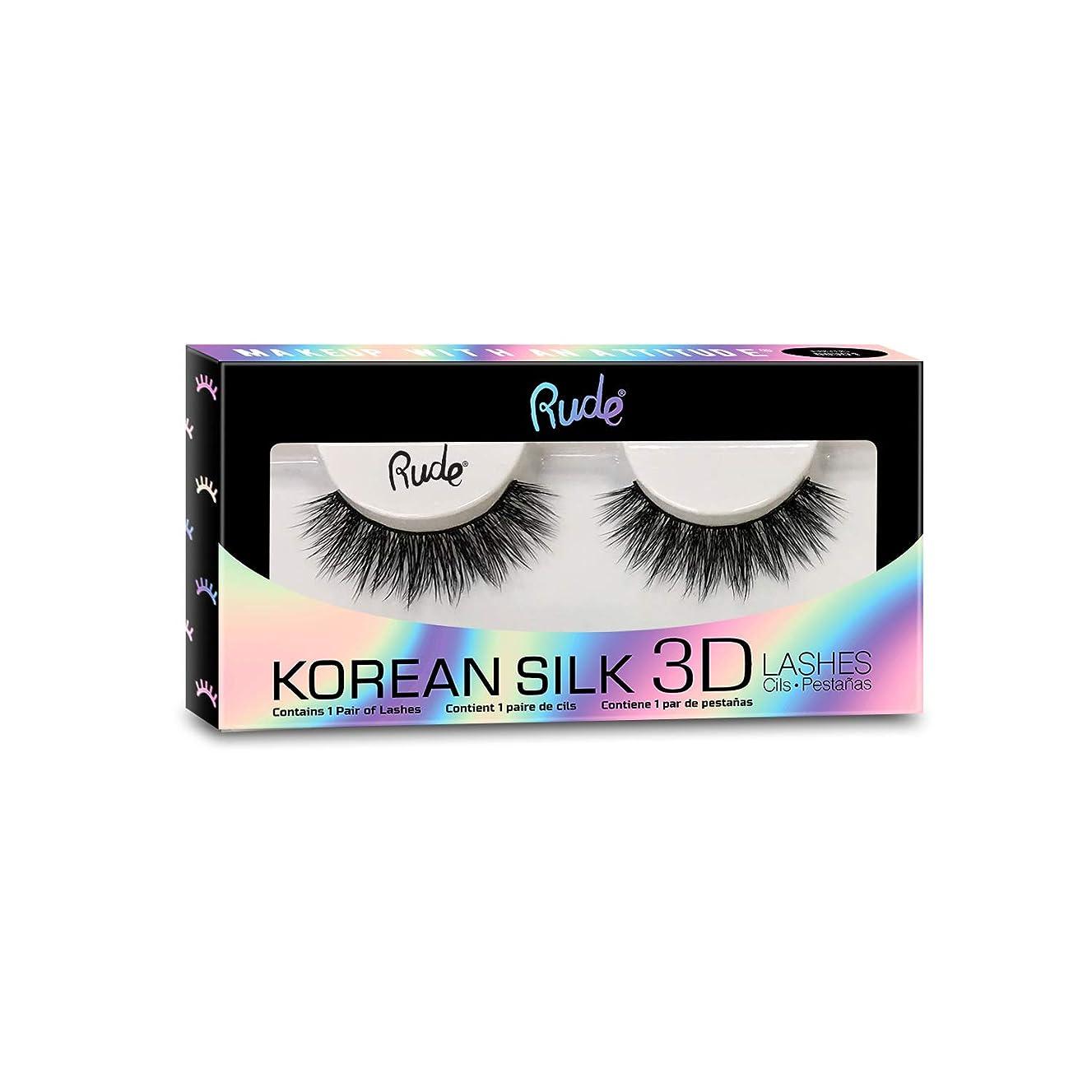 無限大豆擬人化RUDE? Korean Silk 3D Lashes - Erotic (並行輸入品)