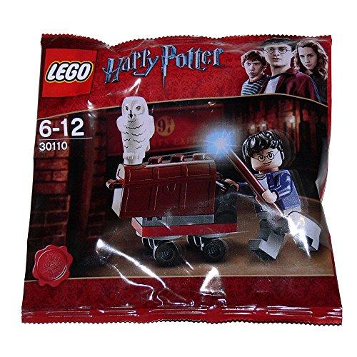LEGO Harry Potter: King's Cross Trolley Mit Hedwig Eule Und Harry Minifiguren Setzen 30110 (Beutel)