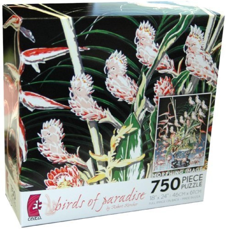 entrega gratis Robert Kercher Metamorphosis 750-Piece Jigsaw Puzzle - - - Birds of Paradise by Ceaco  suministro directo de los fabricantes