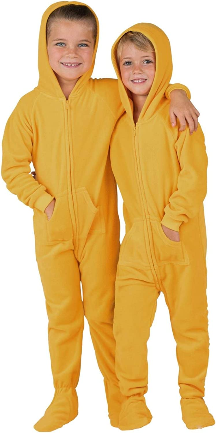Footed Pajamas - Challenge the lowest price of Japan ☆ Free shipping on posting reviews Toddler Fleece Hoodie Pajam Onesies One-Piece