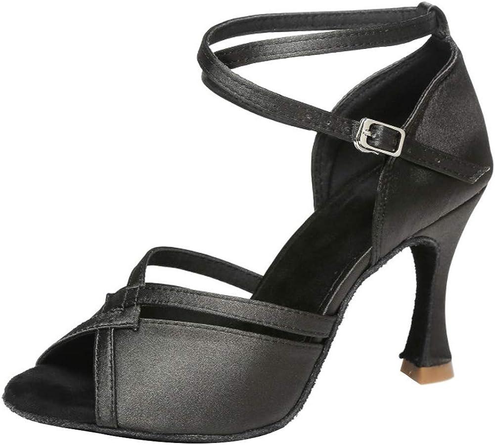 SWDZM Women's Standard Latin Dance Shoes Ballroom Model-225