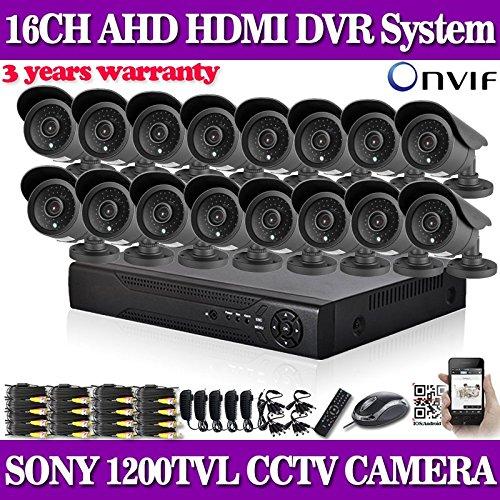 hogar DVR de 16 canales AHD 960H ARBUYSHOP con SONY 1200TVL cubierta...