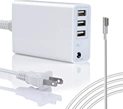 Wakeach 45W/60W USB Charger for MacBook Air 11 13 inch MacBook Pro 13inch(Before 2012 Mid), Replacement for Magsafe 1 Power Adapter L-Tip Connector,MacBook Power Supply Portable Travle Wall Charger