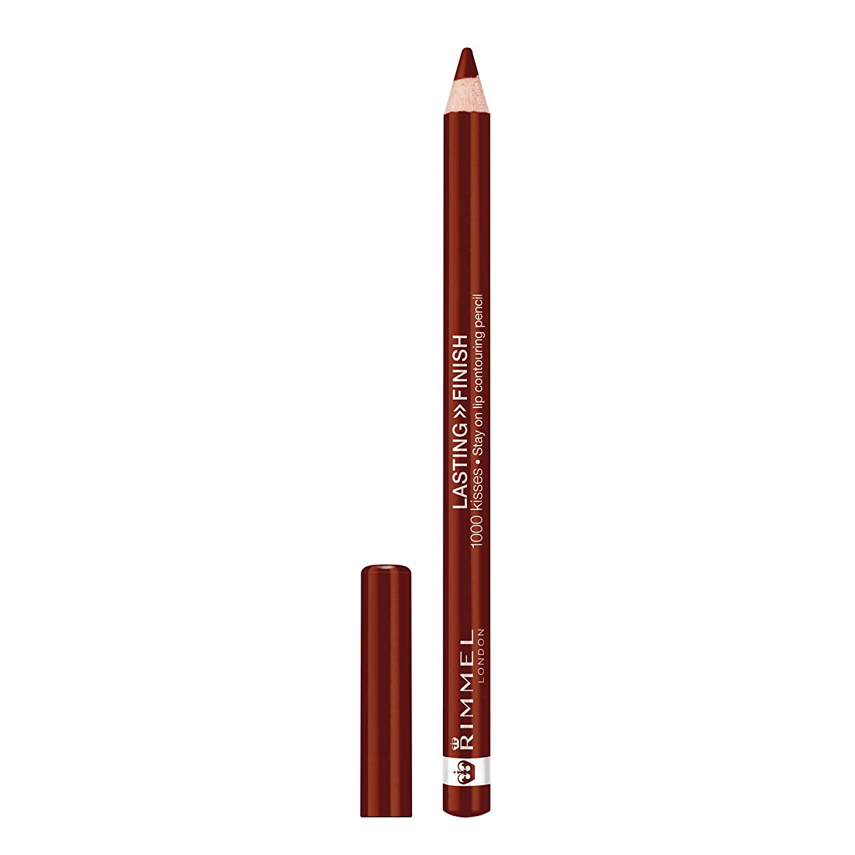 口実怠幸福RIMMEL LONDON Lasting Finish 1000 Kisses Stay On Lip Liner Pencil - Coffee Bean (並行輸入品)
