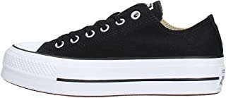 Converse Chuck Taylor All Star Lift Womens Black/White Ox Trainers