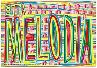 エスタ・メローヂア Esta Melodia (This Melody) ジークレー技法 高級ポスター (B2/515mm×728mm)