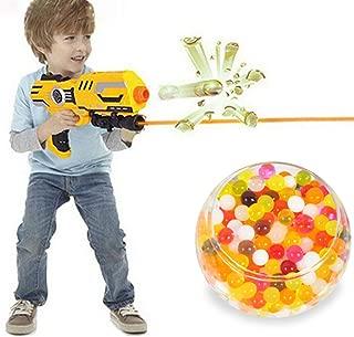 GreenSun TM 10000Pcs/Lot Rainbow Crystal Water Paintball Gun Bullet Balls Darts Pistol Toys Home Aquarium Potted Decoration Tiny Balls