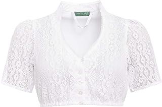 Country-Line Damen Trachten-Mode Dirndlbluse Hilde in Weiß traditionell