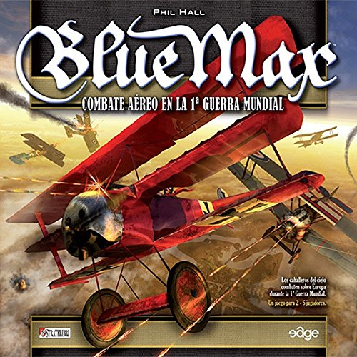 Edge Entertainment- Blue MAX Tablero, Talla única (EDGBM01)