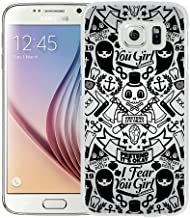 Pretend Its Okay Vector White Screen Cover Case Fit for Samsung Galaxy S6,Popular Cover