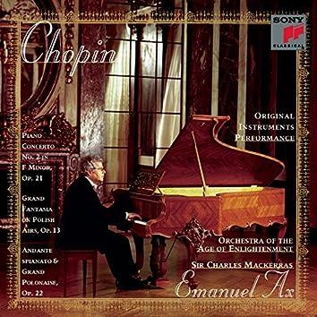 Chopin: Piano Concerto No. 2, Op. 21, Fantasy on Polish Airs, Op. 13 & Andante spianato et Grande polonaise brillante, Op. 22