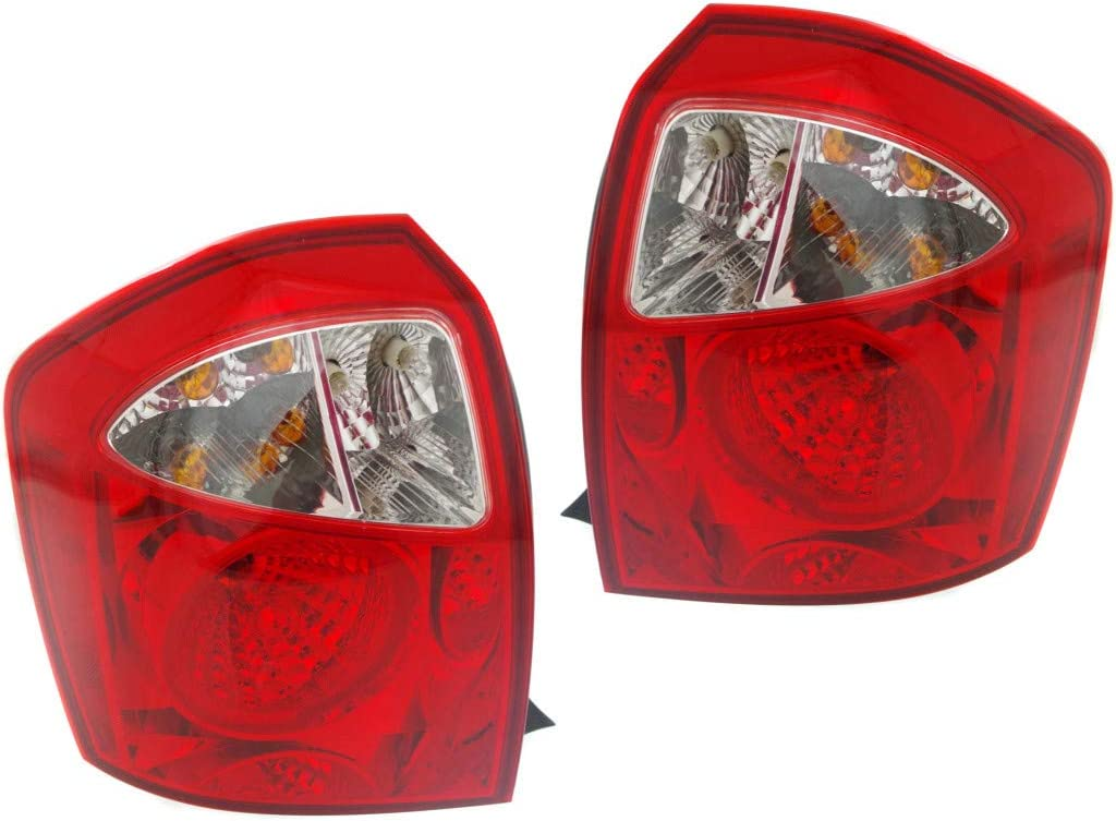 For 2005-2009 Kia Spectra Pair 人気ショップが最安値挑戦 Rear 数量限定 and Passe Driver Lights Tail