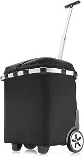 Reisenthel Carrycruiser Iso, Shopping Basket, Shopper on Castors, Trolley, black, OJ7003
