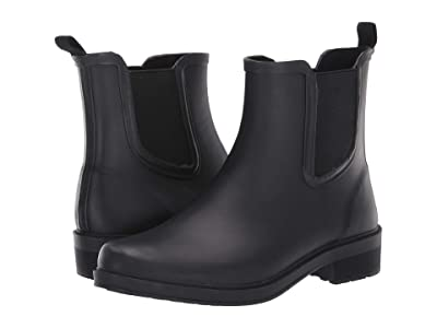 J.Crew Chelsea Rain Boot (Black) Women