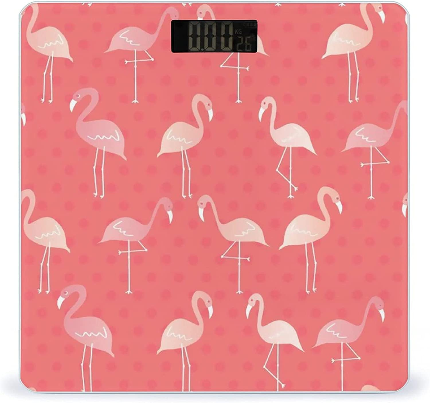 Pink Flamingos Highly Accurate favorite Smart Weight 2021 model Fitness Scale Digita