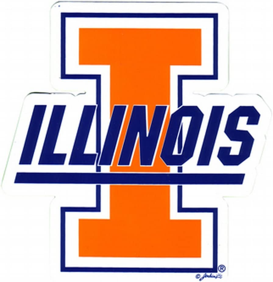 NCAA Illinois Fighting Illini Magnet Sm Limited time sale Max 46% OFF Car