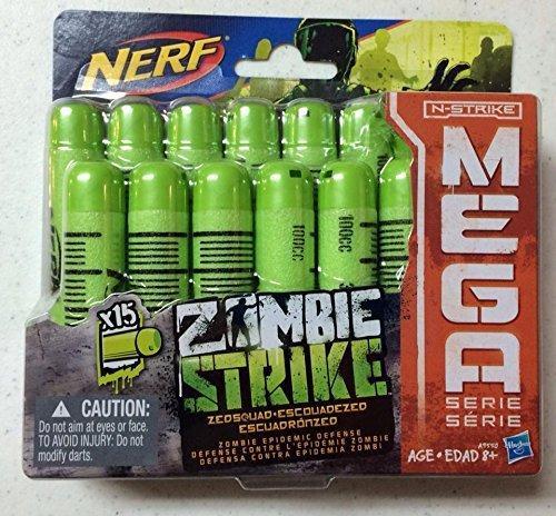 Nerf N-Strike Mega X15 Zombie Strike Darts Board Game