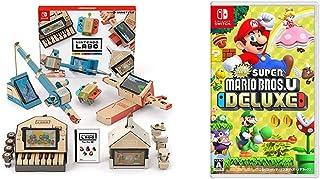 Nintendo Labo (ニンテンドー ラボ) Toy-Con 01: Variety Kit - Switch + New スーパーマリオブラザーズ U デラックス -Switch セット
