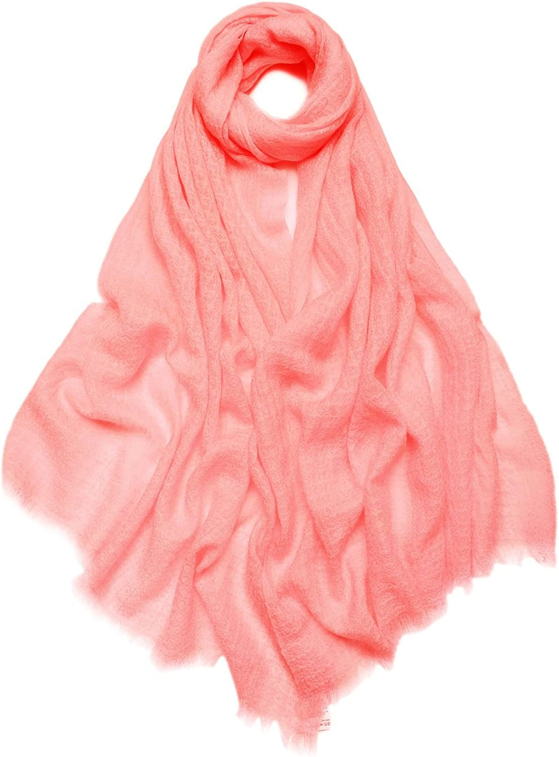 ZORJAR Wool Winter Scarf Scarf Fashion Long Scarves For Womens Dobby Design Large Stole 78 x28