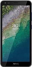 """Nokia C01 Plus 4G, Android 11 (Go Edition), 5.45"""" HD+ Screen, Dual SIM, 2GB RAM/16GB Storage   Blue"""