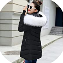 Qirong Winter et Women Parka Oblique Zipper with hat Long Womens Winter ETS and Coats camperas Mujer invierno