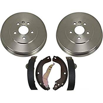80126 Rear Brake Drum Pair of 2