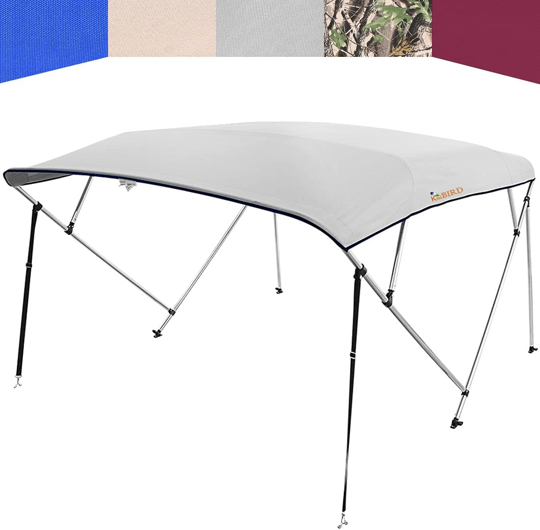 KING BIRD 4 Bow Bimini Top Cheap Max 57% OFF mail order sales Boat Waterproo Cover Shade Sun Canopy