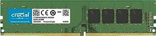Crucial 16GB (1x16GB) DDR4 UDIMM 2666MHz CL19 Dual Rank Desktop PC Memory RAM