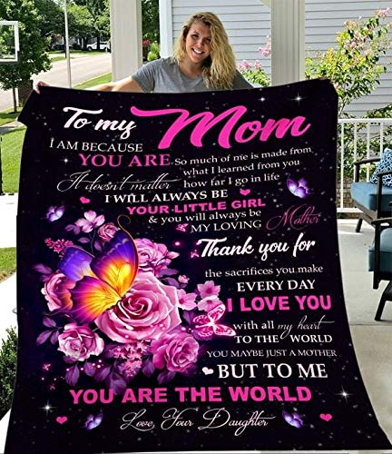 RosyyShop Butterfly to My Mom I Am Because You are So Much of Me is...