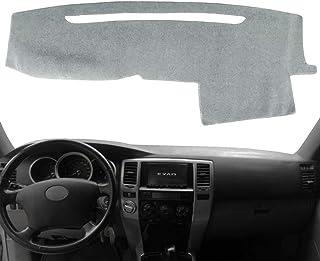 غطاء لوحة القيادة غطاء لوحة لوحة لوحة السجاد مخصص تناسب سيارة تويوتا 4Runner 2003 2004 2005 2006 2007 2008 2009 بدون مكبر ...