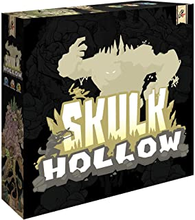 Skulk Hollow - Asymmetric, Tactical Combat Strategy 2 Player Game, Players Use Action Cards to Move Units, Summon, and Use...