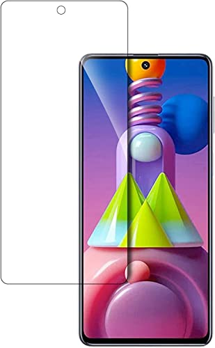 Tough Lee Tempered Glass Screen Guard For Samsung Galaxy M51 Transparent Full Screen Coverage Except Edges With Easy Installation Kit Pack Of 1