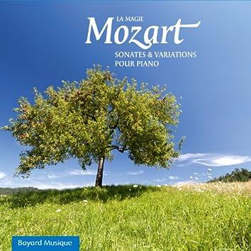 Mozart: La magie, Sonates & Variations pour piano