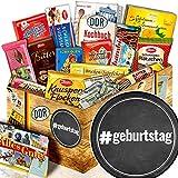 geburtstag - Geburtstags Geschenkset - Präsentkorb Schokolade DDR XL